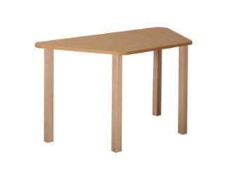 Masă trapezoidală Basm, de lemn