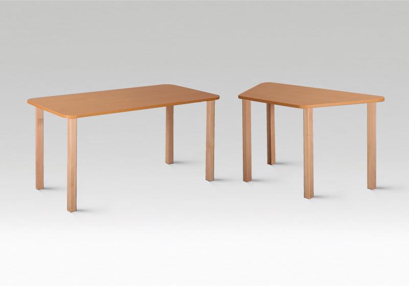 Mese cu cadru din lemn