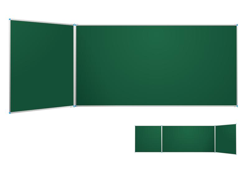 Table perete verzi clasice cu aripă laterală