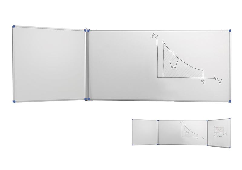Table perete albe clasice cu aripă laterală