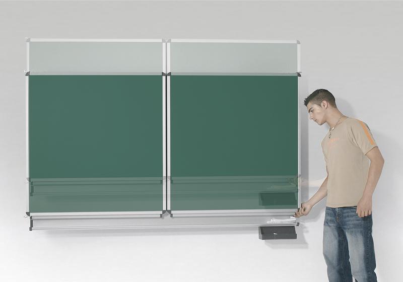 Tablă de perete Vario cu mişcare verticală