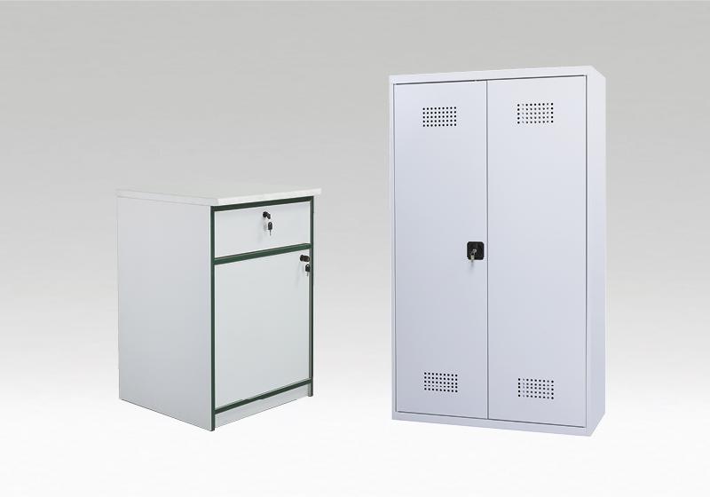 Dulapuri metalice și de depozitare materiale chimice