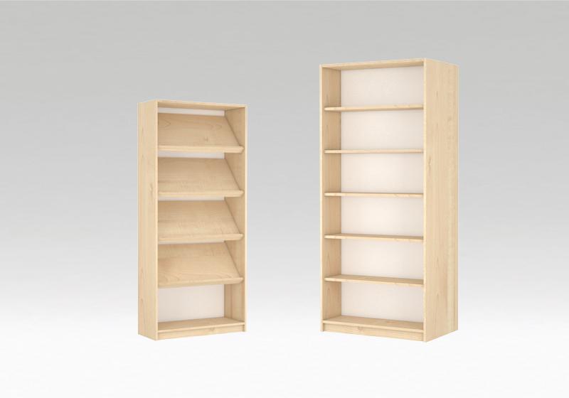 Dulapuri și rafturi bibliotecă