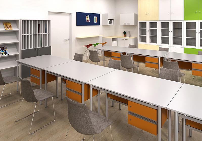 Catedre, scaune și mese profesor