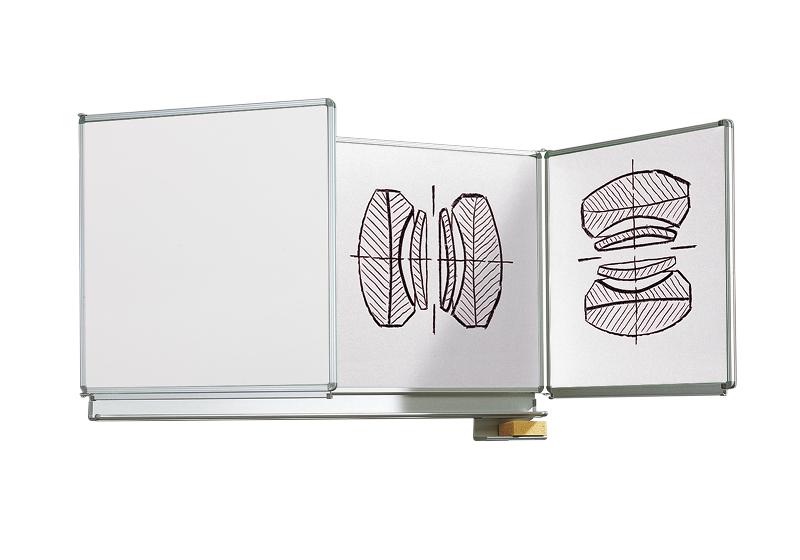 Table perete albe Vario cu aripă laterală