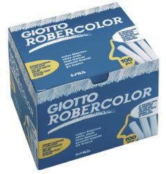 Cretă albă Giotto 100 de bucăți