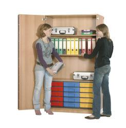 poliță, 15 InBox M color, cu ușă