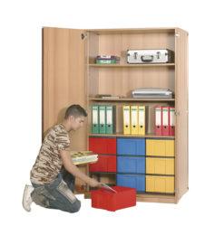 poliță, 9 InBox L color, cu ușă