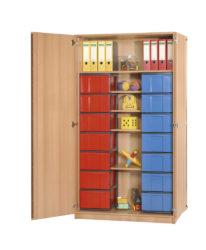 poliță, 14 InBox L color, cu ușă