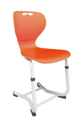 scaun elev,reglabil,șezut plastic