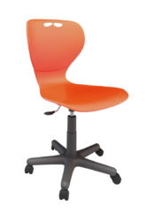 scaun rotativ, șezut plastic