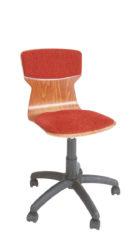 Scaun rotativ Soliwood tapițat