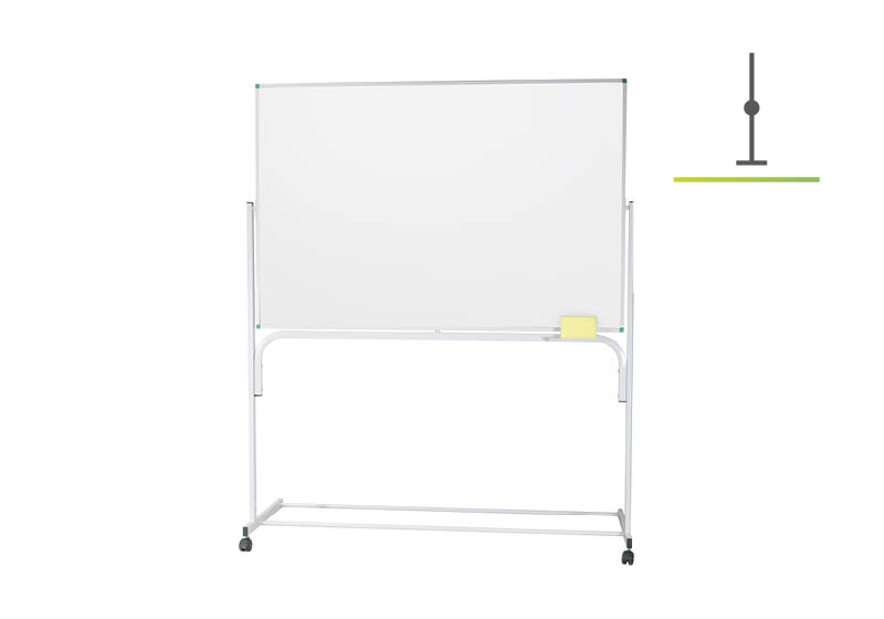 Table albe clasice pe stativ fix