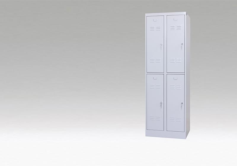 Dulap metalic vestiar ușă scurtă